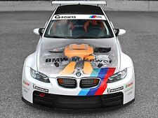 "BMW M3 Racing Engine Canvas Matte Print 23"" x 33"""