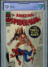 Amazing Spider-man #34 CBCS 7.0 Silver Age Marvel 1966 Kraven B21