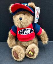 "Boyds Bears 2004 Racing Family 10"" Jeff Gordon #24 Plush Bear in Racing Shirt"