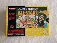 Super Mario All Stars - Super Nintendo SNES Game [PAL UKV] CIB