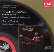 Rachmaninov: Symphony No. 2 in E Minor Op. 27/Vocalise/Aleko- Intermezzo & Women