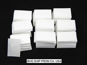 1000 x LINT FREE NAIL WIPES PAD GEL ACRYLIC TIPS REMOVER