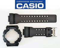 Genuine Casio GA-110 Watch Band & Bezel Rubber Strap  Black G-Shock GA-110-1B