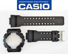 Casio GA-110 Genuine Watch Band & Bezel Rubber Strap  Black G-Shock GA-110-1B