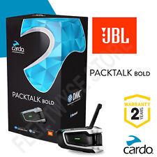 Cardo Scala Rider PACKTALK BOLD JBL Speakers 2020 UK STOCK!! BTSRPTBJ