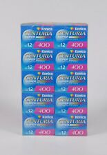Pack of 10 KONICA CENTURIA 400 12 Exp. Color 35mm Film, Expired 10.2004