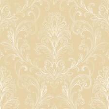 BR6264 Linear Damask Scroll Wallpaper