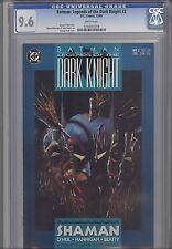 Legends of the Dark Knight 2 CGC 9.6 1989 DC Batman  Comic: part two of five
