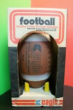 Vintage Eagle Rubber Company Ashland Oh Official Size All Weather F6518 Football