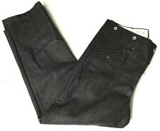 WWII GERMAN M37 WOOL COMBAT STONE GREY TROUSERS-LARGE