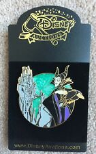 Disney Auctions Maleficent with Diablo and Castle Swirls Swirling Pin LE 500 HTF
