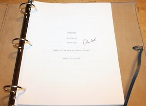 NOMADLAND MOVIE HAND SIGNED AUTOGRAPH SCREENPLAY SCRIPT FYC FOR YOUR