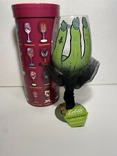 Lolita Halloween Wine Glass The Witch Is Back In Box