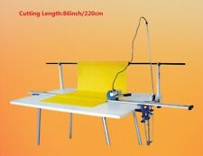 Fbric Cutter High Speed Delay Function Fabric End Cutter With866 Rack 220v 180w