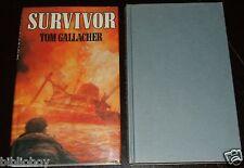 1985 First Edition in Dust Jacket of Survivor by Tom Gallacher