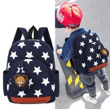 Kinderrucksack Kinder Tasche Kindergartenrucksack Schultasche Beutel Stern Teddy