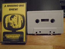 RARE PROMO Rhino Records sampler CASSETTE TAPE Elvis Dick Dale Johnny Cash Prima