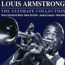 LOUIS ARMSTRONG - THE ULTIMATE COLLECTION - NEW CD!!