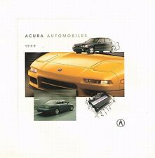 1999 Acura 20-page Sales Brochure Catalog - RL TL NSX SLX Integra CL