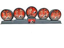 2002 McDonald's Collectors Hockey Player Puck Display