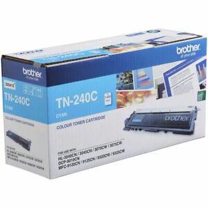 GENUINE Brother TN-240C Cyan Toner For BR 9325CW 9120CN 9320C 3045CN 3075CW