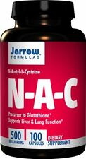 Jarrow Formulas N-A-C (N-Acetyl-L-Cysteine), Supports Liver & Lung Function,