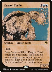 x1 Dragon Turtle AFR MTG 307/281 RARE SHOWCASE M/NM 1x