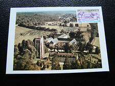 FRANCE - carte 1er jour 25/3/1978 (abbaye notre-dame bec-hellouin) (cy45) french