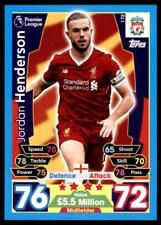 Match Attax 2017/2018 Jordan Henderson Liverpool No. 172