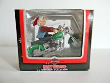 Retired Harley Davidson 2002 North Pole Motorcycle Club Christmas Ornament
