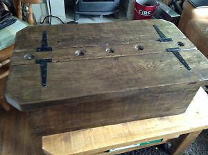 Jacobean Morbihan a rustic storage coffee table