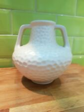 Bretby Art Deco Hammered Finish Vase 514