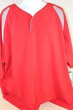 New Balance Pro Elite SS Red Baseball Batting Men's Jacket Shirt Size 4XL ** NEW