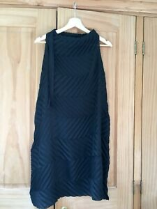 Issey Miyake pleats please pleated dress black ME S 8 10