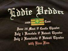 Eddie Vedder t shirt Hawaii