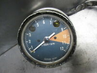 Honda 1971 - 1973 CL350 CB350 Twin K Tachometer Tach Gauge Rev Counter 9,200 RPM