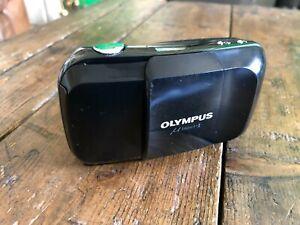 Vintage Olympus Mju 1 mju1 AF Compact 35mm 1:3.5 film Camera In working order