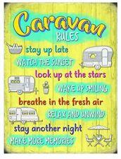 Caravan Rules Drinks Mat/Coaster (og)