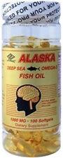 Purified Alaska Deep Sea Fish Oil, Omega 3, 100 softgels EPA 360mg DHA 240mg