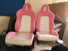 PINK CAR SEATS FOR HONDA S2000