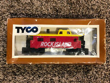 TYCO - HO SCALE - ROCK ISLAND CABOOSE - TRAIN / RAILROAD