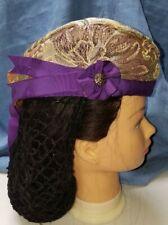 Glengarry Style Brocade Scottish CAP HAT Reproduction Civil War Style  New
