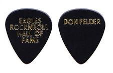 Eagles Don Felder Rock & Roll Hall of Fame Induction Black Guitar Pick 1998