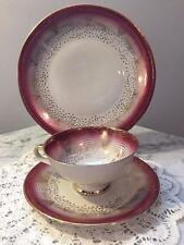 Beautiful Antique Winterling Cup and Saucer Trio Bavaria Germany