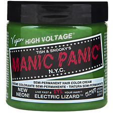 Manic Panic Semi-Permanent Hair Color Cream, Electric Lizard 4 oz