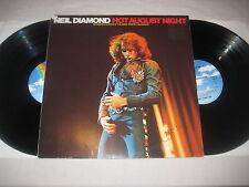 Neil Diamond - Hot August Night   Vinyl 2 LP