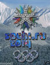 Olympic Poster/2014 Russia Winter Olympic Games/sochi.ru 2014/16x20 inches
