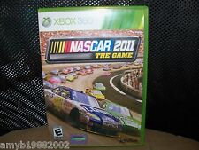 Nascar The Game 2011 (Xbox 360, 2011) EUC