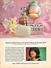 PUBLICITE ADVERTISING  1962   LUX  savon  NATHALIE WOOD