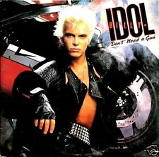 "12"" - Billy Idol - Don't Need A Gun (Punk, Synth-pop) LIKE NEW LISTEN - OYELO"